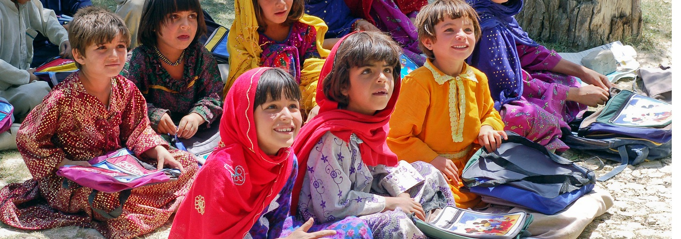 Afghan children word press