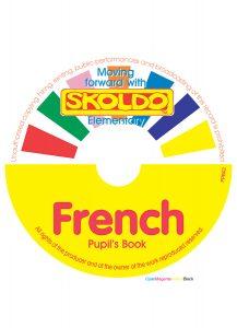skoldo french book elementary pupil cd