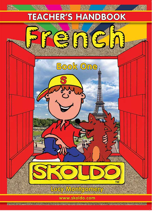 French School Book Cover : Handbook for those teaching french to children in primary