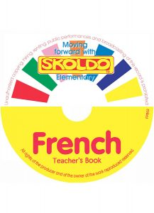 Skoldo French Elementary Book Teachers' CD