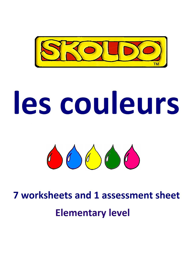 Skoldo Colours Elementary Book