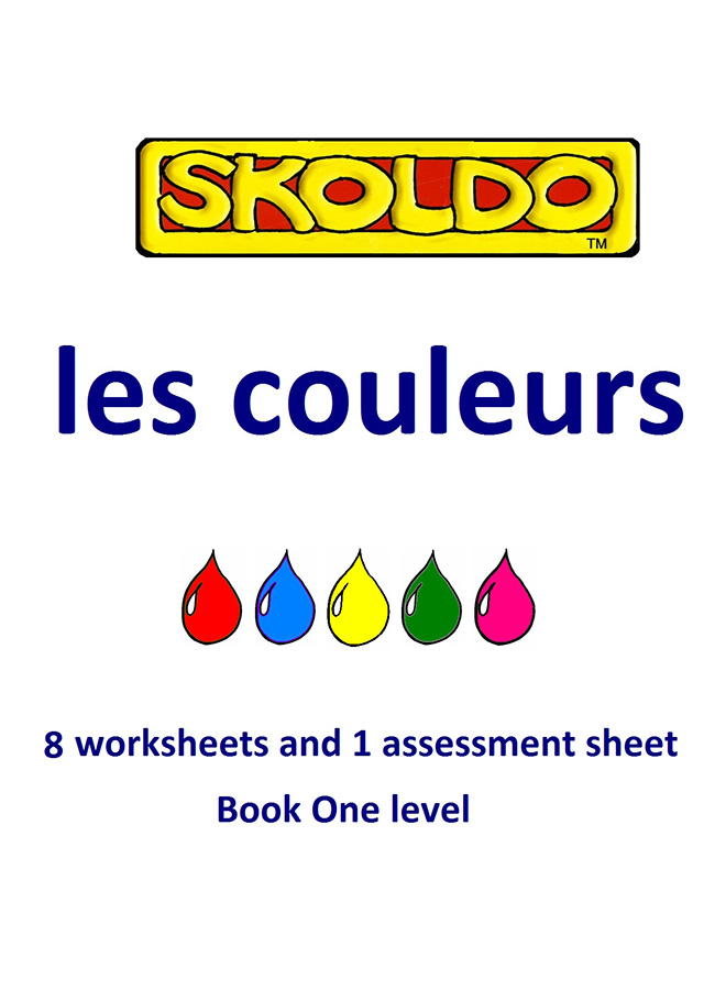 Skoldo Colours pack Book one