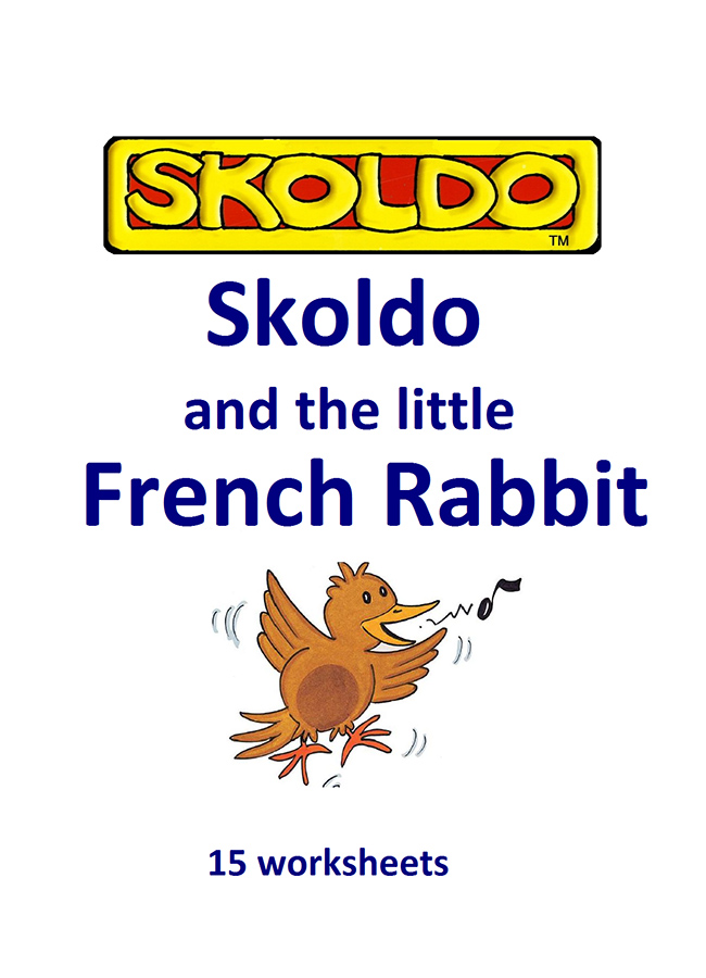Skoldo and Little French Rabbit worksheets