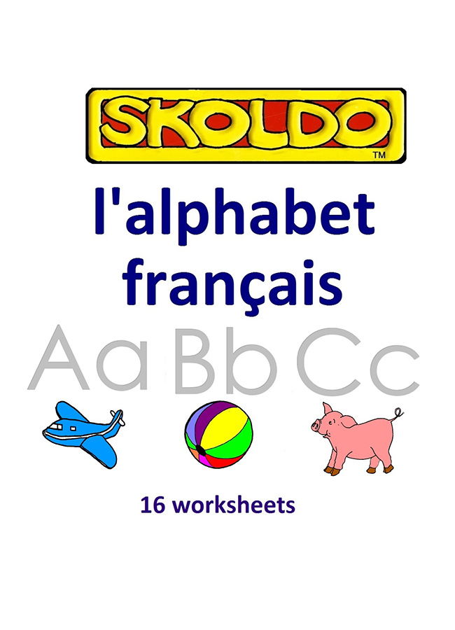 l'alphabet francais Skoldo