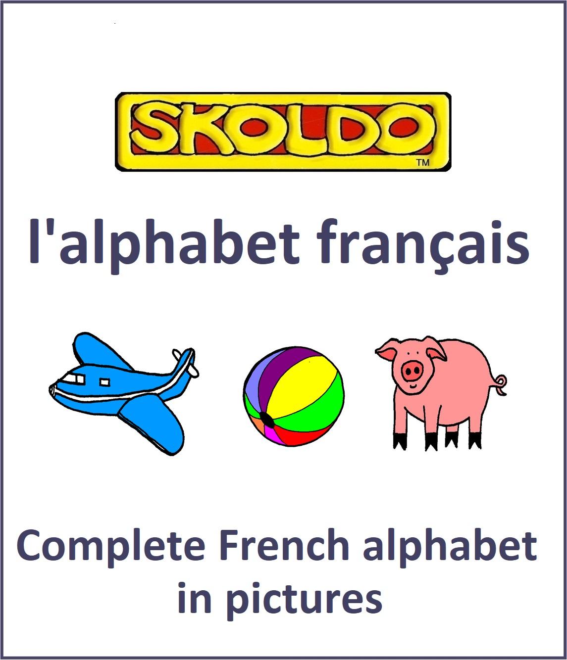 Skoldo online french alphabet booklet